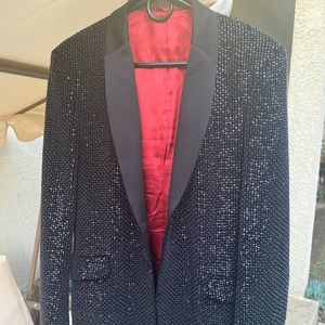 Made in Italy. Luxury Suit Jacket with sequins